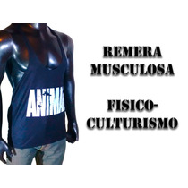 Pack X12 Musculosa Fisicoculturismo Animal Entrenar Gym