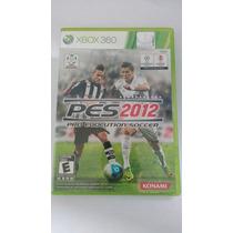 Jogo Pes 2012 Pro Evolution Soccer Para Xbox 360 Original