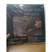 Vinilo Lo Mejor De Jose Luis Perales