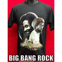 Remera Bob Marley Reggae Talle L - Large ( 52 Cm X 72 Cm )