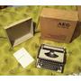 Máquina De Escribir Aeg Olympia Traveller De Luxe S (negoci)