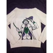 Campera Fraternity Joker Batman Guason Dc Comics Hombre T.l
