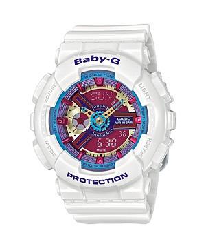086582df7b7 Relógio Casio Feminino Baby-g Ba112-7adr Branco G Shock - R  529