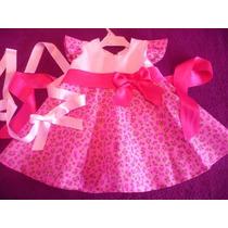 Vestido De Fiesta Navidad Cerezas 2en1 Nena Y Ropa Gap Polo