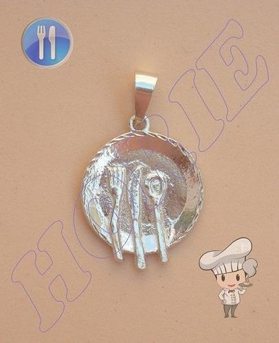 Hermoso dije platito con cubiertos plata 925 dd 370 for Cubiertos plata