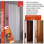 Puerta Plegable Pvc Plastica Para Cocina, Baños,closet Etc