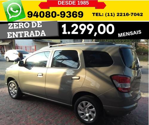 Chevrolet Spin 18 Ltz 7l Aut 5p 2016 Zero De Entrada R 54590