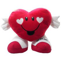 Almofada Coração Eu Te Amo Namorados 28 Cm Pelúcia Presente