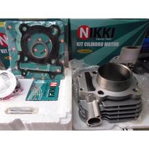 Kit Cilindro Pistao Aneis Fazer/lander 250 Nikki + Kit A Ss
