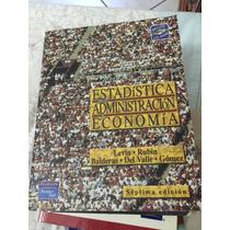Libro De Estadística Administración Para La Economía