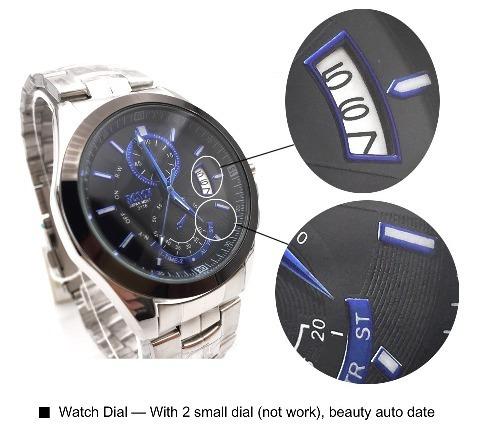2fd4d92142191 Relógio Bosck Luxo Masculino Em Aço Inoxidável Aprova D agua - R  79,99 em  Mercado Livre