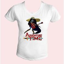 Camiseta Babylook Feminina Hora De Aventura 04