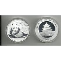 China 10 Yuan 2016 Plata