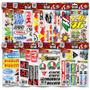 Cartela Patrocinios Completa 146 Adesivos