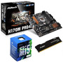 Kit Asrock H170m Pro4s + Intel Core I5-6400 + 8gb Ddr4 Fury