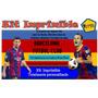 Kit Imprimible Barcelona Futbol,tarjeta,invitaciones,diseña