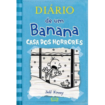 Diário De Um Banana 6: Casa Dos Horrores - Capa Brochura