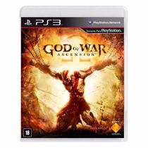 God Of War Ascension Ps3 Em Português Mídia Física + Brinde
