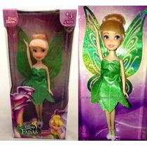 Boneca Tinker Bell Sininho Fada Do Peter Pan Disney Original