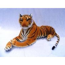 Gigante De Peluche Tigre Animal Big Orange Tiger Felpa Grand