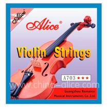Set De Cuerdas Alice Para Violin A703 Nuevas