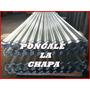 Chapa Galvanizada Para Techos 3.60m X 0.80 M Esp. 0.16mm
