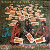 Lp Trio Da Alegria ( Homenagem Ao Estado Do Espirito S) Hbs