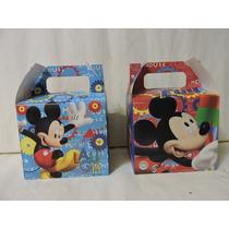 Mickey Mouse Dulceros Cajas Fiestas Recuerdos Aguinaldos