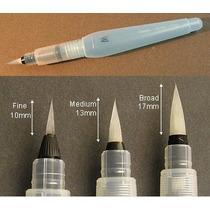 Paquete De Aquash Brush De Pentel Con Las 3 Medidas