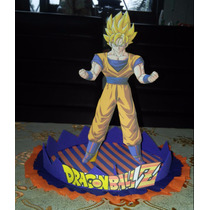 Centro De Mesa Dragon Ball Z