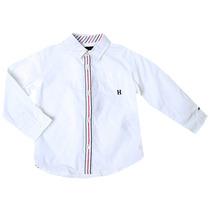Camisa De Vestir Niño Bebe 100 Tommy Hilfiger 34721