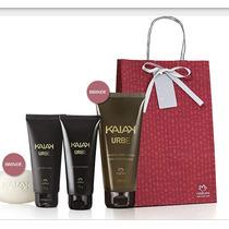 Presente Kaiak Urbe - Shampoo + Gel Para Barbear + Pós Barba