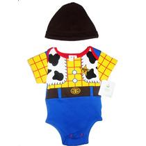 Pañalero Disfraz Bebe Woody Toy Story Disney Baby Original