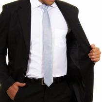Terno Slim Masculino Oxford 2 Botoes Pronta Entrega ***