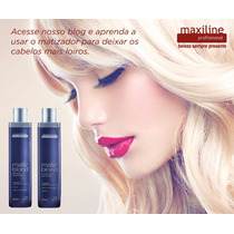 Kit Matiz Blond Shampoo,condicionador Maxiline 2x300ml