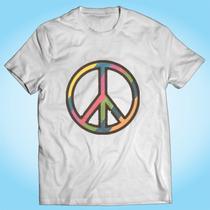 Camisa Peace Símbolo Da Paz Reggae Rip Personalizada