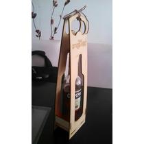 Porta Botellas De Vino Personalizadas Fibrofacil