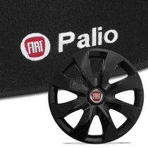 Jg Carlota Esportiva 14 Prime Black Tapetebordado Fiat Palio