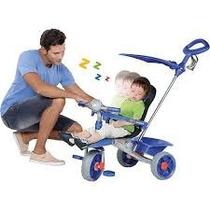 Triciclo Smart Comfort Azul - Bandeirante 256 Envio Imediato