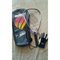 Raqueta Ektelon 4 Libras Titanio Mod. F3 Para Racquetball