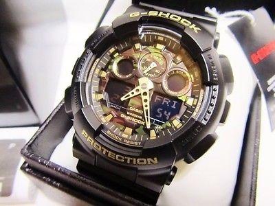025e624651d7 Reloj Casio G-shock Ga-100cf-1a9cr Camuflaje Negro P  Hombre -   2