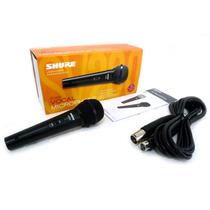 Microfono Shure Sv-200 Para Cantar Vocal Coros Cable Gratis