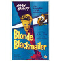 Poster (28 X 43 Cm) The Blonde Blackmailer