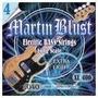 Encordado Para Bajo 4 Cuerdas Martin Blust 040-045 !!!
