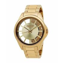 Relógio Rip Curl The Focus Fem Dourado Gold. Novo Na Caixa!