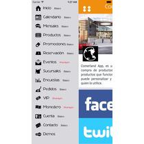 App Personalizada Lote De Autos Iphone $799 Con Su Info.