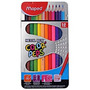 Colores Maped Caja Metal 12 Colores