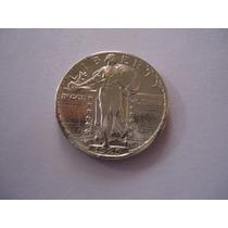 Moeda Prata Quarter Dollar Dolar 1925 Tressa Liberty Usa Eua
