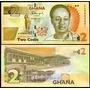 Coleccion De Billete Africana Original 2 Cedis De Ghana
