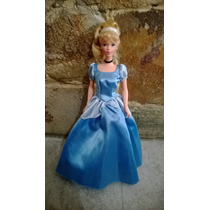 Boneca Barbie Cinderela Princesa Disney Mattel